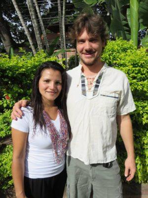 Nathan and Leidy